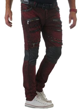 Jeans CD481-BURGUNDY CIPO BAXX