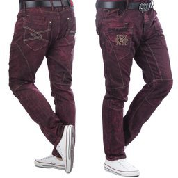 Jeans CIPO BAXX CD497 BURGUNDY