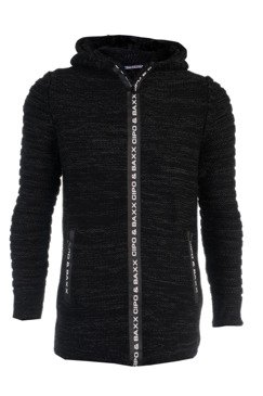 Strickjacke CIPO BAXX CP179 BLACK