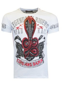 T-SHIRT CIPO BAXX CT482 WHITE