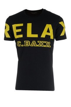 T-SHIRT CIPO BAXX CT493 BLACK