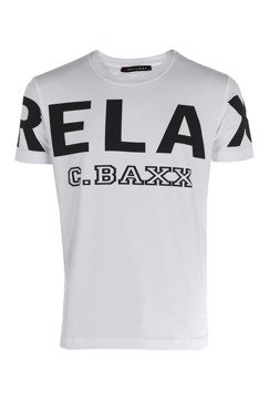 T-SHIRT CIPO BAXX CT493 WHITE