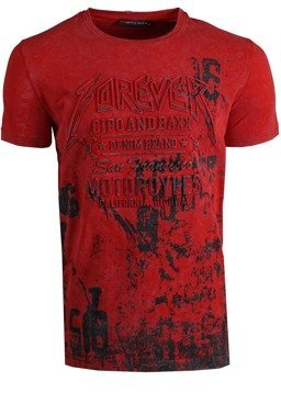T-SHIRT CIPO BAXX CT506 RED