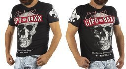 T-SHIRT CIPO BAXX CT610 BLACK