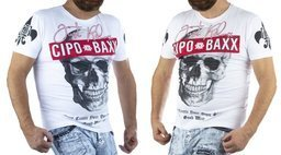 T-SHIRT CIPO BAXX CT610 WHITE