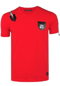 T-SHIRTCIPO BAXX  CT421 RED