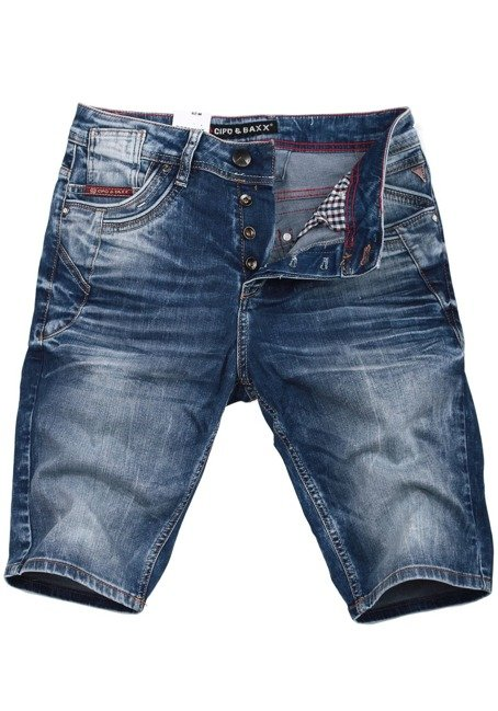 Shorts CK143 BLUE CIPO BAXX