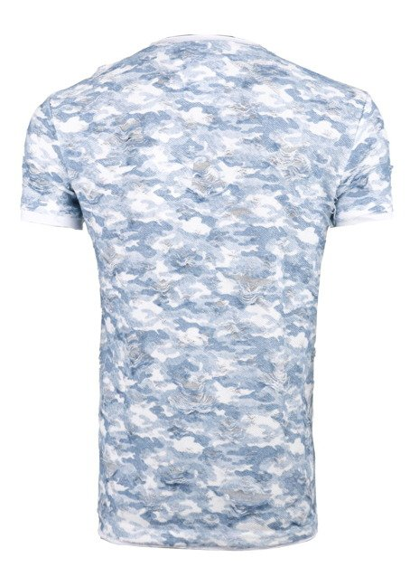T-SHIRT CIPO BAXX CT455 BABY BLUE